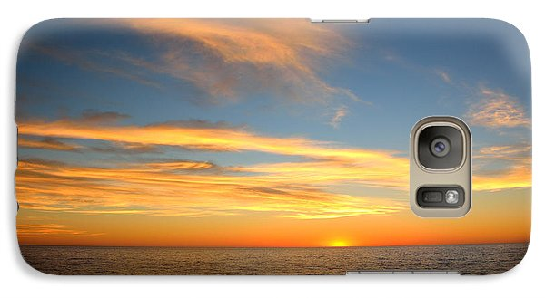 Galaxy Case featuring the photograph San Diego Sunrise by Susan D Moody