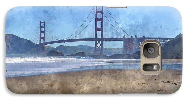 San Francisco Golden Gate Bridge In California Galaxy S7 Case