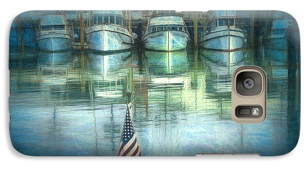 Galaxy Case featuring the drawing San Francisco Pier by Michael Cleere