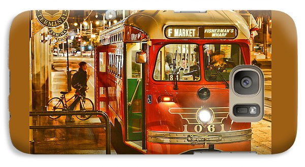 Galaxy Case featuring the photograph San Francisco's Ferry Terminal by Steve Siri