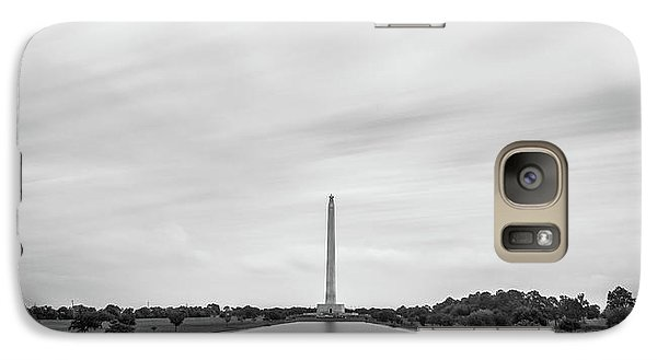 San Jacinto Monument Long Exposure Galaxy S7 Case