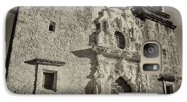 Galaxy Case featuring the photograph San Jose Mission - San Antonio by Stephen Stookey