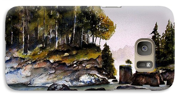 Galaxy Case featuring the painting San Josef Bay by Marti Green
