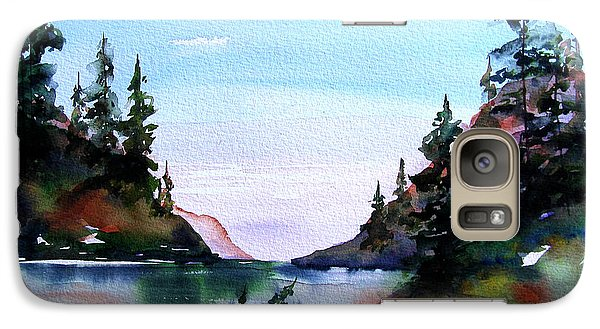 Galaxy Case featuring the painting San Juan Island by Marti Green