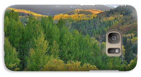 Galaxy Case featuring the photograph San Juan Mountain Sunset by Ray Mathis