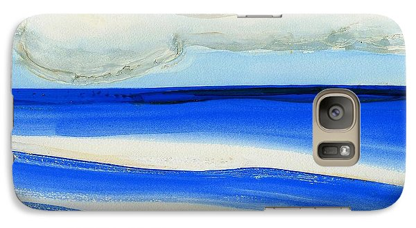 Galaxy Case featuring the painting San Juan, Puerto Rico by Dick Sauer