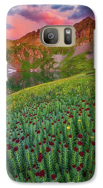 Galaxy Case featuring the photograph San Juan Sunrise by Darren White