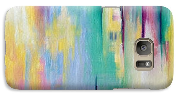 Galaxy Case featuring the painting Sanctuary #2 by Suzzanna Frank