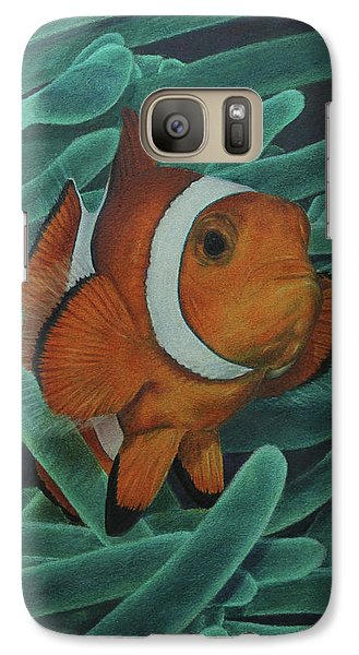 Galaxy Case featuring the painting Sanctuary by Jennifer Watson