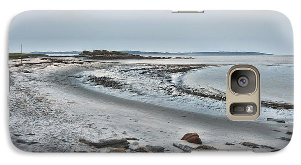 Galaxy Case featuring the photograph Sand Along The Shoreline by Richard Bean