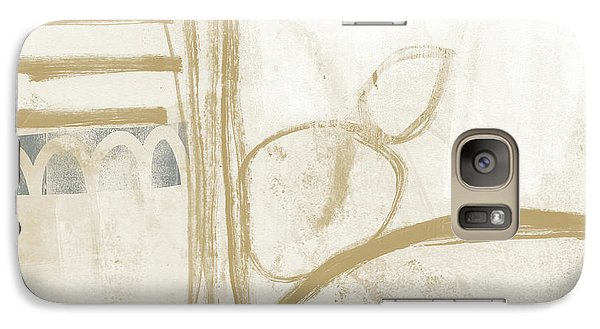 Camel Galaxy S7 Case - Sand And Stone 3- Contemporary Abstract Art By Linda Woods by Linda Woods