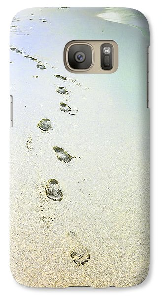 Galaxy Case featuring the photograph Sand Between My Toes by Betty LaRue