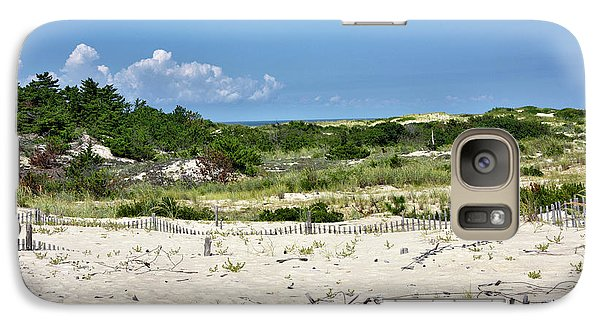 Galaxy Case featuring the photograph Sand Dune In Cape Henlopen State Park - Delaware by Brendan Reals