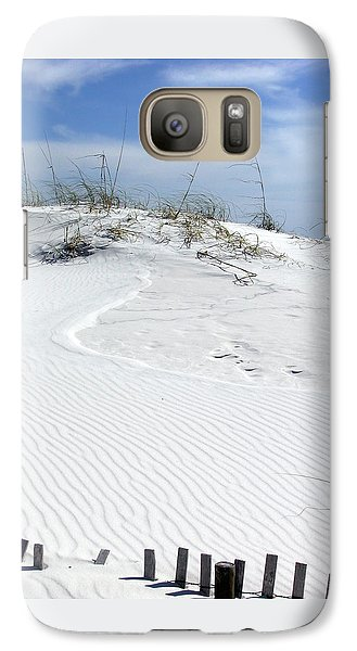 Galaxy Case featuring the photograph Sand Dunes Dream 2 by Marie Hicks