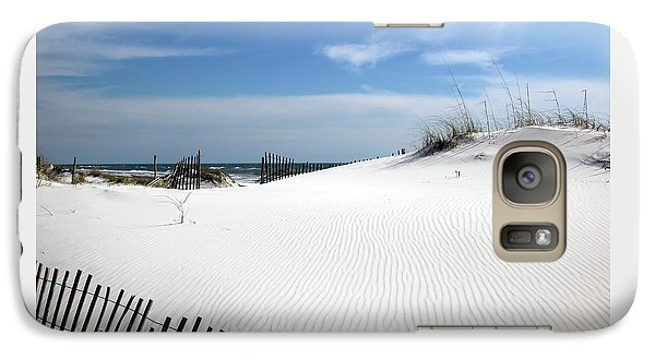 Galaxy Case featuring the photograph Sand Dunes Dream by Marie Hicks