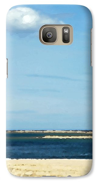 Galaxy Case featuring the photograph Sand Sea And Sky by Brooke T Ryan