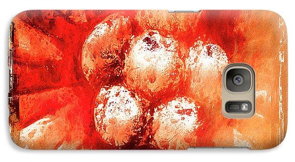 Galaxy Case featuring the digital art Sand Storm by Carolyn Marshall