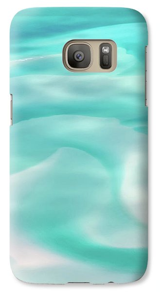 Galaxy Case featuring the photograph Sand Swirls by Az Jackson