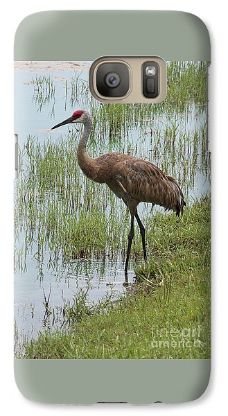 Sandhill In The Marsh Galaxy S7 Case