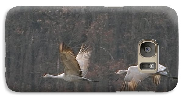 Galaxy Case featuring the photograph Sandhills In Flight by Shari Jardina