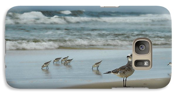 Galaxy Case featuring the photograph Sandpiper Beach by Renee Hardison