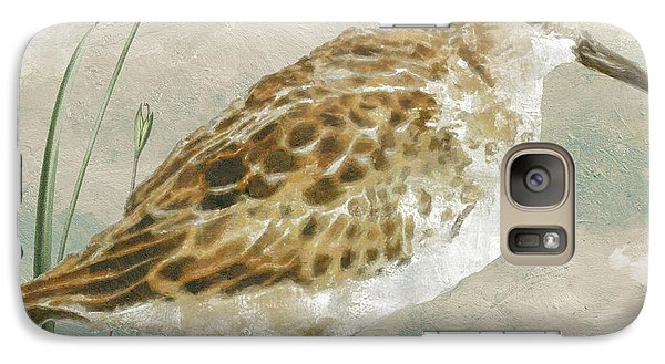 Sandpiper I Galaxy Case by Mindy Sommers