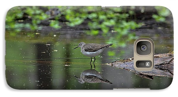 Galaxy Case featuring the photograph Sandpiper In The Smokies II by Douglas Stucky