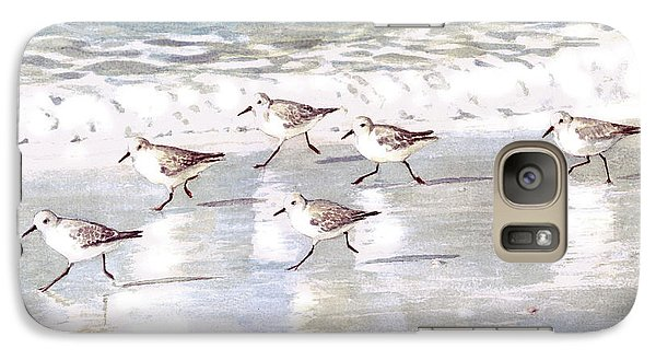 Sandpipers On Siesta Key Galaxy S7 Case