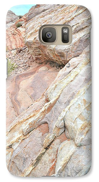 Galaxy Case featuring the photograph Sandstone Cove In Valley Of Fire by Ray Mathis