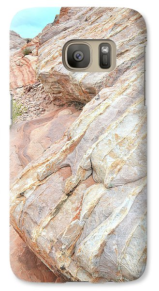 Galaxy Case featuring the photograph Sandstone Feet In Valley Of Fire by Ray Mathis