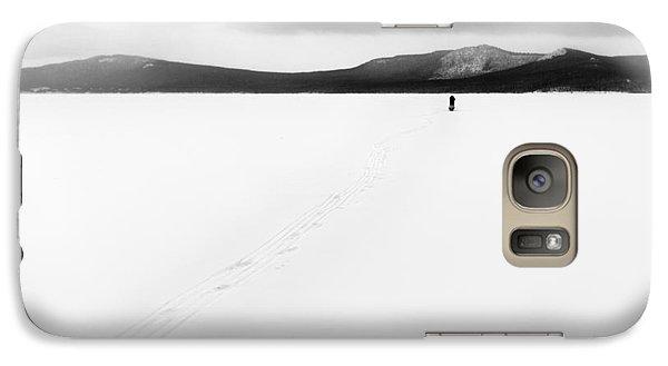Galaxy Case featuring the photograph Sannikov Land by Hayato Matsumoto