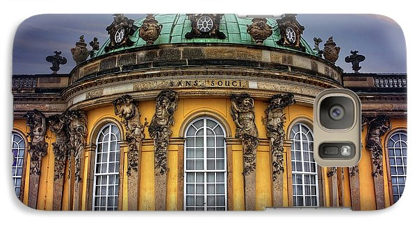Galaxy Case featuring the photograph Sanssouci Palace In Potsdam Germany  by Carol Japp