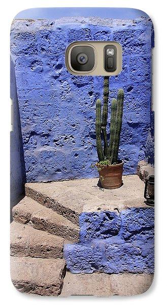 Galaxy Case featuring the photograph Santa Catalina Monastery by Aidan Moran