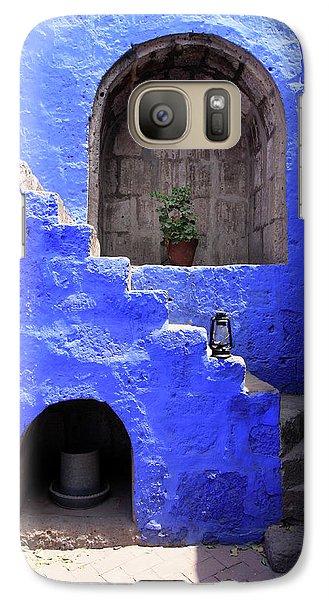 Galaxy Case featuring the photograph Santa Catalina Monastery, Arequipa, Peru by Aidan Moran