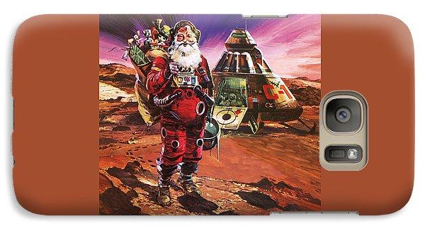 Santa Claus On Mars Galaxy S7 Case by English School