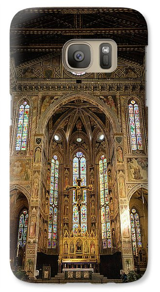 Galaxy Case featuring the photograph Santa Croce Florence Italy by Joan Carroll