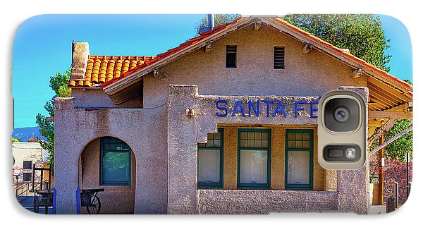 Galaxy Case featuring the photograph Santa Fe Station by Stephen Anderson
