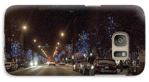 Galaxy Case featuring the photograph Santa Visits Bradford by Wade Aiken