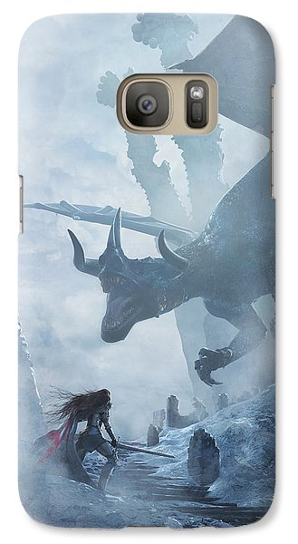 Santa Georgina Vs The Dragon Galaxy S7 Case