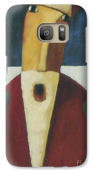 Galaxy Case featuring the painting Santa by Glenn Quist