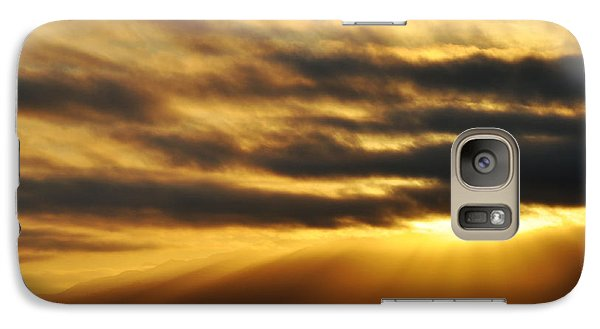 Galaxy Case featuring the photograph Santa Monica Golden Hour by Kyle Hanson