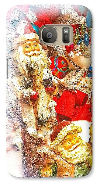 Santa Scene 1 Galaxy S7 Case
