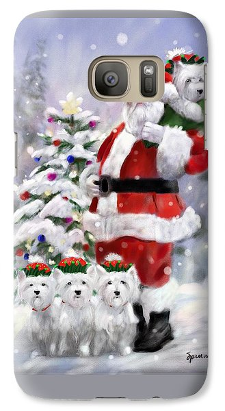 Elf Galaxy S7 Case - Santa's Helpers by Mary Sparrow