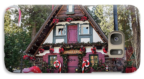 Galaxy Case featuring the photograph Santa's House by Eddie Yerkish