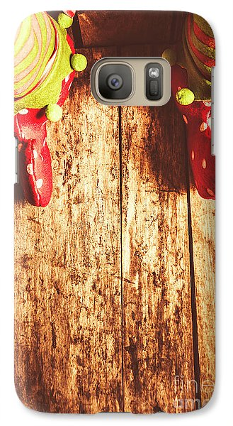 Elf Galaxy S7 Case - Santas Little Helper by Jorgo Photography - Wall Art Gallery