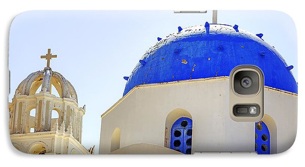 Religion Galaxy S7 Case - Santorini by Joana Kruse