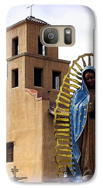 Galaxy Case featuring the photograph Santuario De Guadalupe Santa Fe New Mexico by Kurt Van Wagner