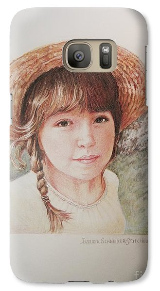 Galaxy Case featuring the painting Sarah by Patricia Schneider Mitchell