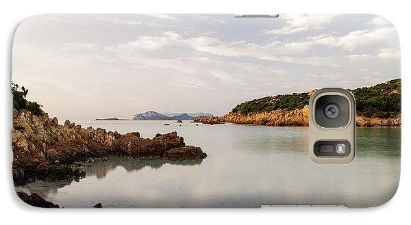 Galaxy Case featuring the photograph Sardinian Coast I by Yuri Santin