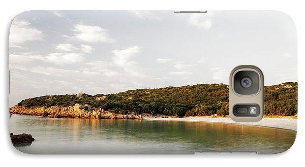 Galaxy Case featuring the photograph Sardinian View by Yuri Santin